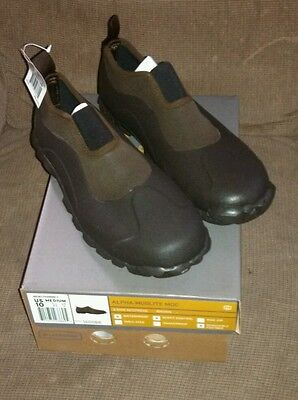 LACROSSE MUDLITE MOC WATERPROOF SLIP ON SIZE 12 BOOTS NEW SAVE $30!