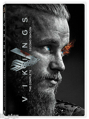 Vikings: The Complete Second Season 2 (DVD, 2014, 3-Disc Set) NEW