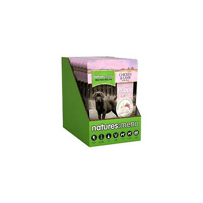 Natures Menu Dog Puppy Pouch With Chicken Lamb & Rice 300g - Foods - Dog - Wet P