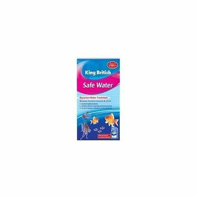 King British Aquarium Safe Water 250ml - Accessories - Aquatic - Treatments