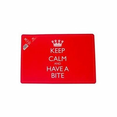 Keep Calm Feeding Placemat - Accessories - Dog & Cat Bowls - Accessories