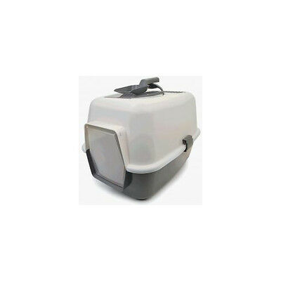 Enclosed Cat Loo With Door And Scoop - Accessories - Cat - Litter Trays