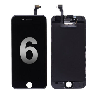 LCD Display Touch Screen Digitizer Assembly Replacement for iPhone 6 Black 4.7''
