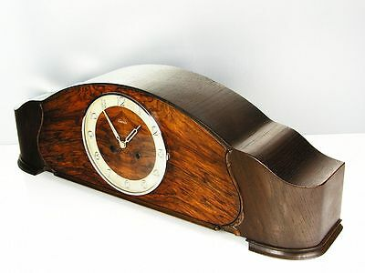A Big Pure Beautiful  Art Deco  Kienzle   Chiming Mantel Clock