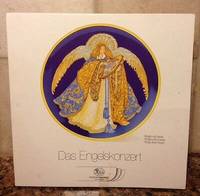 HUTSCHENREUTHER~ ANGEL WITH HARP - Boxed-Series: A Concert of Angels~ COA