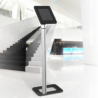 """Universal 9.7""""-10.1"""" Anti-theft Tablet Floor Stand - iPad 2,3,4,Air,Air2,Pro 9.7"""