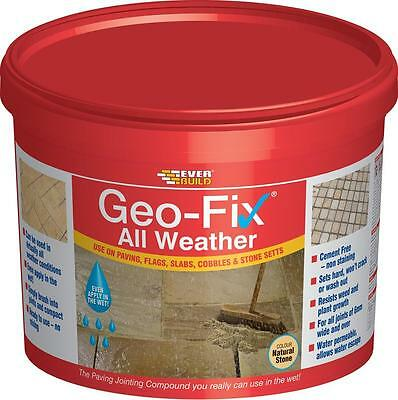 Everbuild Geo-Fix All Weather 14kg | Paving/Flags/Slabs/Cobbles/Stone Setts