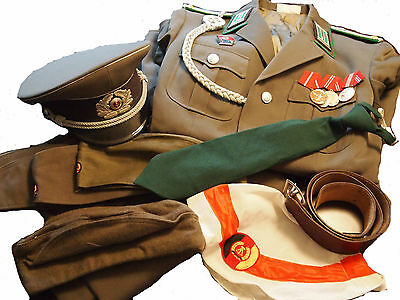 TOP RARITY! NVA military uniform lieutenant of border forces, Checkpoint Charlie