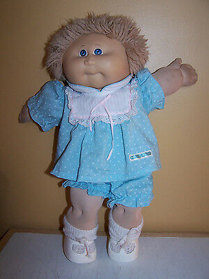 Original 80's Xavier Roberts Cabbage Patch Doll Girl with Birth Certificate