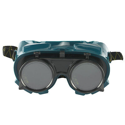 #5 Welding Goggles Black ABS Lens ANSI Z87.1 Steampunk Cosplay Vintage Victorian