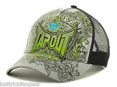 Tapout Mixed Martial Arts Earn Respect Trucker Mma Hat/cap - Osfm