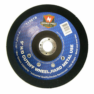 "10pc Cutoff Wheels 9"" x 1/12"" x 7/8"" inch Disc for Cutting Hard Steel Metal"