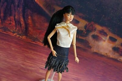 COOL GORGEOUS Handmade The original clothes dress for barbies doll c12