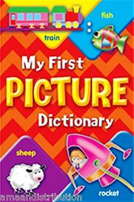 New My First Picture Dictionary Hardback Book. For Baby & Toddler Vocabulary