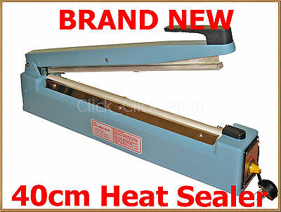 NEW Impulse Heat Sealer 400mm -METAL CASING inc 10 spare element kits