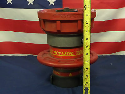 """Akron Brass """"Akromatic"""" 2000 Style 5170 Master Stream Nozzle 500-2000 GPM """"NEW"""""""