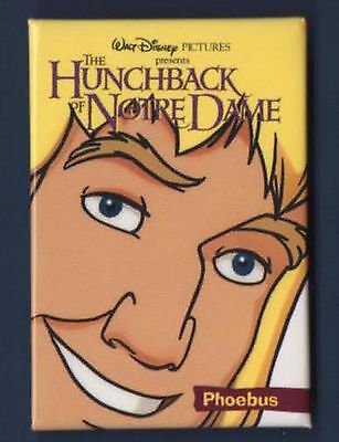 HUNCHBACK OF NOTRE DAME PHOEBUS 1996 PROMO THEATER CHARACTER PIN