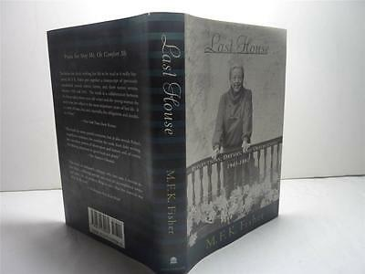 BOOK: LAST HOUSE, REFLECTIONS, DREAMS...- FISHER- 1995- HC/DJ - FIRST EDITION