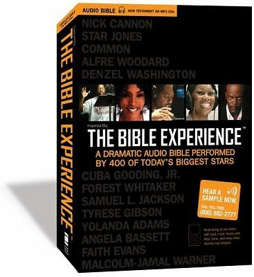 Inspired by ... the Bible Experience by Zondervan Publishing Staff (2008, CD,...