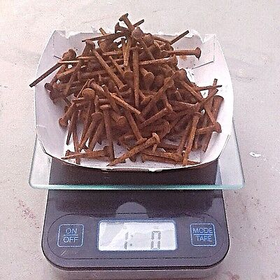 "1 1/2"" Old Square Barn Nails w/ Head - 1 Pound Approx 200 Nails"