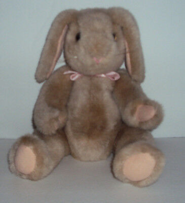 TY 1988 Vintage Easter Bunny Rabbit Plush RARE Retired NEAR MINT FREE S/H