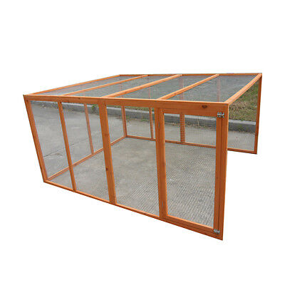 New stock 2M Large  Extension Run for Chicken Coop Hen house Chook Hutch Cage