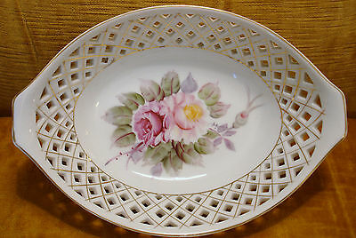SETO Oblong Bowl China from Occupied Japan