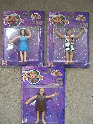 Flintstones bendable action figures