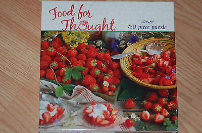 NEW - CEACO PUZZLE 750 PCS - FOOD FOR THOUGHT,FREE SHIPPING WHEY YOU BUY ANY 5