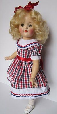 SHE'S HAD A LITTLE MAKEOVER~1950's IDEAL TONI DOLL~P93 CUTIE