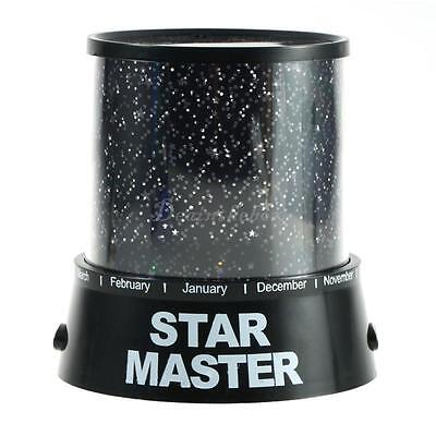 Night Romatic Gift Cosmos Star Sky Master Projector Starry Night Light Lamp DX