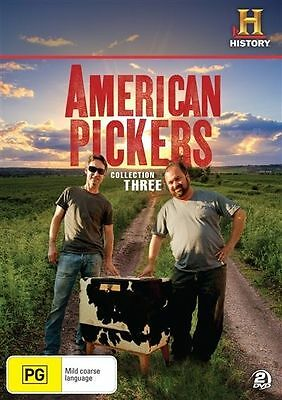 American Pickers : Collection 3 (DVD, 2012, 2-Disc Set) Region 4