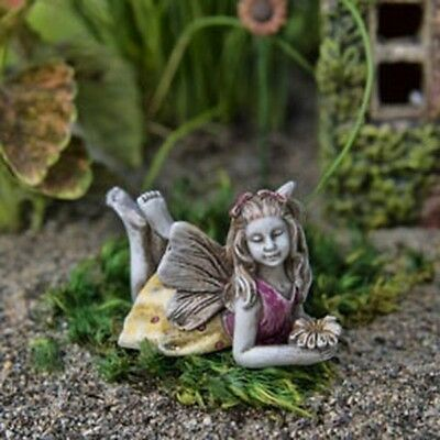 "1.25"" My Fairy Gardens Mini Figure - Lily - Lovely Carefree Miniature Figurine"
