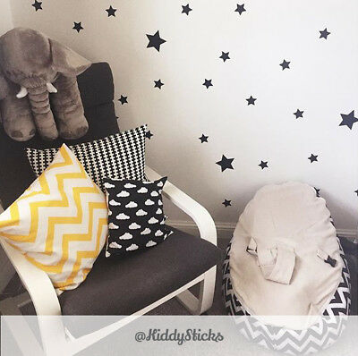Star Wall Stickers / Decals - 3 Sizes & 22 Colours Available.