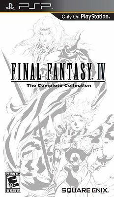 Final Fantasy IV The Complete Collection - Sony PSP , New, Free Shipping
