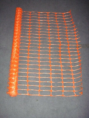 Orange Construction Safety Fence Premium Quality 4' x 100' (4-Feet by 100-Feet)