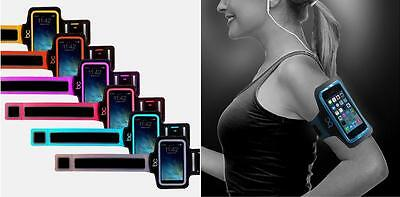 Running Jogging Sports Gym Armband Case Cover For iPhone 4 4S 5 5S 5C iPod Touch