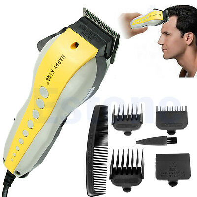 Rechargeable Pro Complete Hair Cutting Kit Clippers Trimmer Shaver New