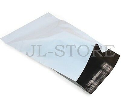 100 7.5X10.5 Shiping Bags Poly Mailers Envelopes Self Seal Plastic Bag 2.5Mil