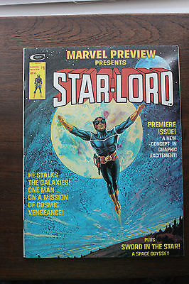 STUNNING Marvel Preview #7 (1976, Marvel) VF+/NM- condition, 1st Star Lord