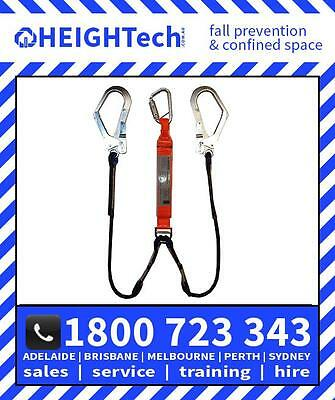 1.5m HEIGHTECH Access Rope Y Lanyard climbing access includes 50mm scaff hooks