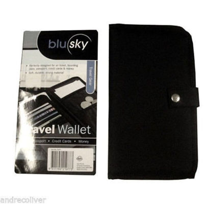Travel Wallet Organiser Pouch Passport Holder Document Cover ID Card Case New