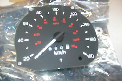 FORD TRANSIT LEFT HAND DRIVE SPEEDOMETER  KMH  WITH TACOMETER 1096418