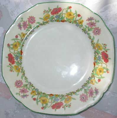 """Vintage W.H. Grindley 10"""" Dinner Plate The Fairfield Ivory England 737553"""