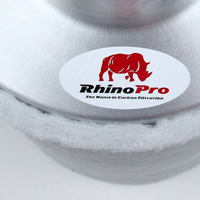 Rhino Pro 425 m³/h Aktivkohlefilter AKF Filter 125 mm Flansch Abluft Grow