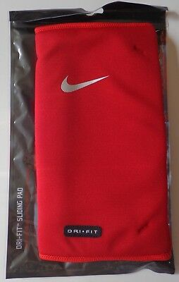 Nike Baseball Dri-Fit Sliding Pad Red/Silver Adult Unisex One Size Fits Most New