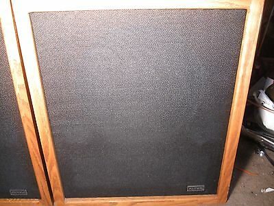 ALTEC STUDIO MONITOR SPEAKERS #9849A OAK CABNETS USA EXCELLENT COND
