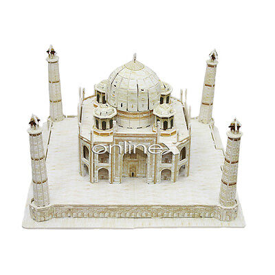 Puzzle 3D Taj Mahal (India) Educativo 158 piezas a1490