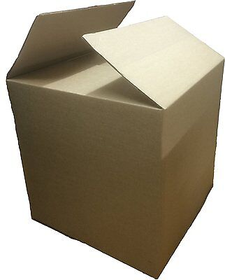 "Strong Cardboard Double Wall House Removal Boxes Packing 24"" x 24"" x 24"" Inches"