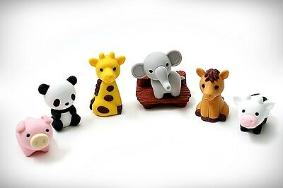 Kawaii Animal ZOO Gomme Iwako Eraser Collection